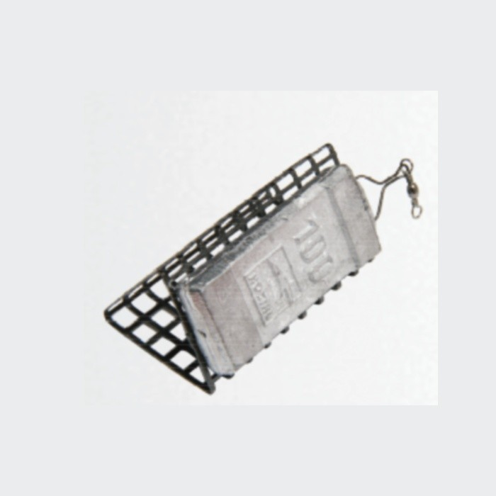 Trīsstūrveida tērauda barotava (20gr, 44mm)