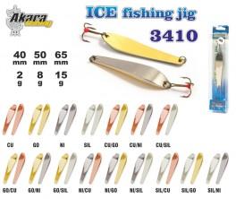Ziemas māneklis «Ice Jig» 3410 (vert., 40 mm, 2 g, krāsa: SIL, iepak. 1 gab.)