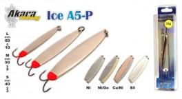 Ziemas māneklis «ICE» A5 (vert., 40 mm, 3 g, krāsa: NI/GO, iepak. 1 gab.)