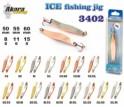 Ziemas māneklis «Ice Jig» 3402 (vert., 50 mm, 8 g, krāsa: Go/Cu, iepak. 1 gab.)