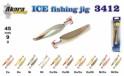 Ziemas māneklis «Ice Jig» 3412 (vert., 50 mm, 9 g, krāsa: NI/GO, iepak. 1 gab.)