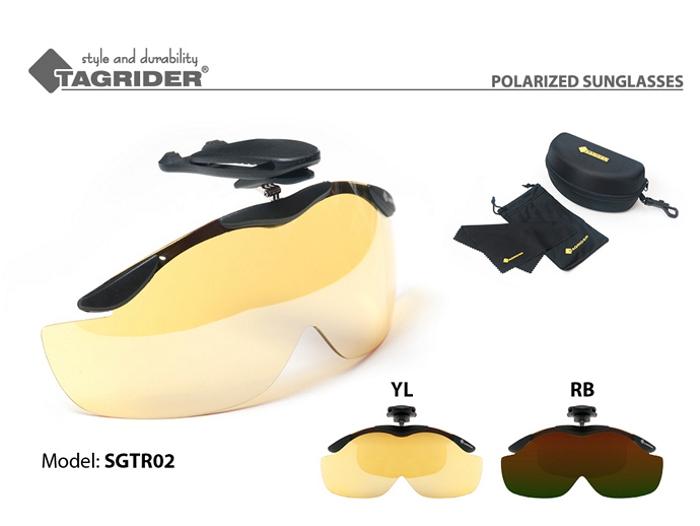 @ Vizieris TAGRIDER TR 02 (polarizētas, filtru krāsa: YL RB)
