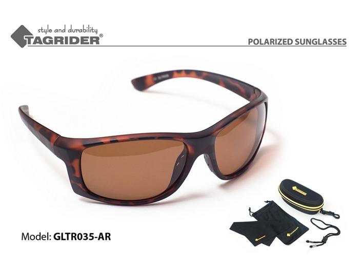 Saulesbrilles TAGRIDER TR 035 (polarizētas, filtru krāsa: AR)