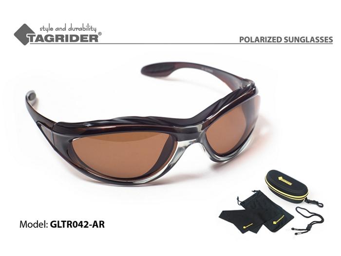 Saulesbrilles TAGRIDER TR 042 (polarizētas, filtru krāsa: AR)