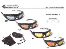 Saulesbrilles TAGRIDER TR 012 (polarizētas, filtru krāsa: CG5)