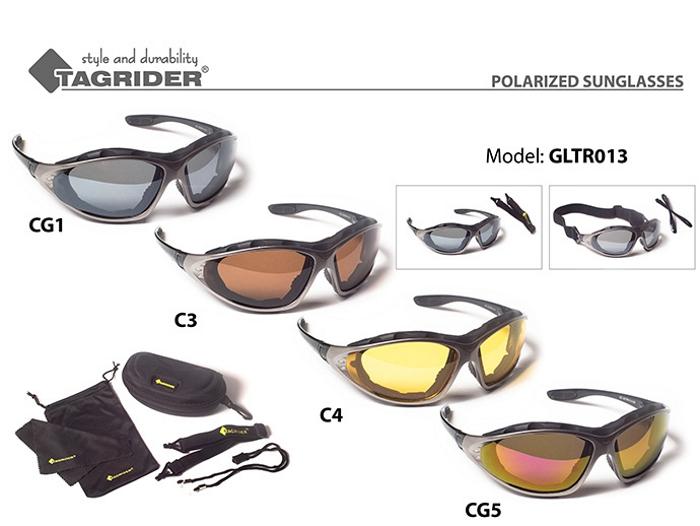 Солнцезащитные очки TAGRIDER TR 013 (поляриз., цв. фильтров: CG1)