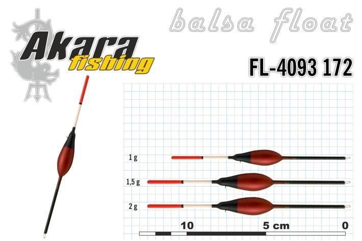 @ Pludiņš AKARA 4903172 (balsa, 1,5 g, 12,5 cm, iep. 10 gab.)