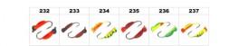 Мормышка «ОСА» № 56 с ушком (3 мм, 0.55 г, цвет: 234, упак. 10 шт.)