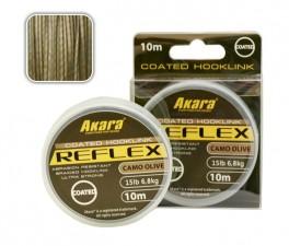 @ Материал для поводков (карповый) AKARA «REFLEX Hooklink 10» (плетёная, 10 м, мм, 18,20 кг, упак. 1 шт.)