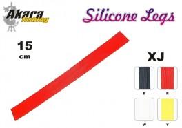 @ Mušu sienamais materiāls AKARA Silicone Legs XJ (15 cm, krāsa: W)