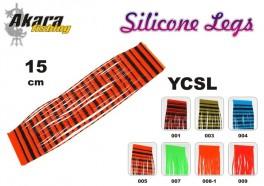 @ Mušu sienamais materiāls AKARA Silicone Legs YCSL (15 cm, krāsa: 004)