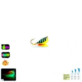 "Мормышка ""Банан"" с ушком (№14, 0.7gr, 3mm)"