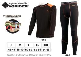 Termo apakškrekls TAGRIDER «ADVANCED Ultra» (izmērs: XL, krāsa: oranža \ melna)