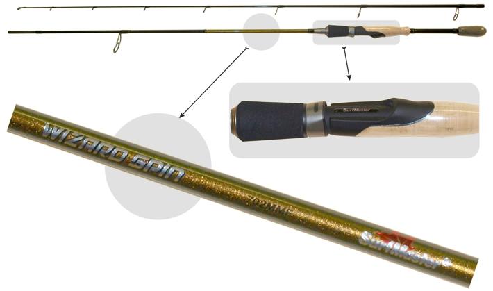 @ Makšķerkāts SURF MASTER «WIZARD Spin TX-30» SP1123 2X (saliek., 2,74 m, oglekļšķ., 137 g, tests: 5,5-17,5 g) 902 MMF