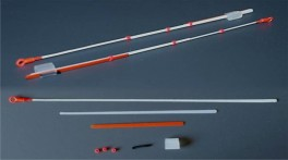 Lavsāna sardziņš AKARA S-LS 18S (silikona stipr., 140 mm, stingrums: 0,25, slodze: 0,15 - 0,40 g, iepak. 10 gab.)