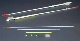 Lavsāna sardziņš AKARA S-LS 19S (silikona stipr., 140 mm, stingrums: 0,35, slodze: 0,25 - 0,70 g, iepak. 10 gab.)