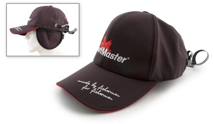 Sporta cepure «Surf Master» ar ausu sildītājiem un klipsi (izmērs: universal, krāsa: melna)
