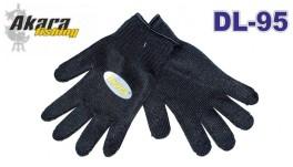 Перчатки кевларовые AKARA DL-95 Universal (размер: L, цвет: чёрный)