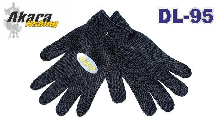 Перчатки кевларовые AKARA DL-95 Universal (размер: XL, цвет: чёрный)