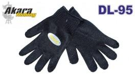 Kevlara cimdi AKARA DL-95 Universal (izmērs: XXL, krāsa: melna)