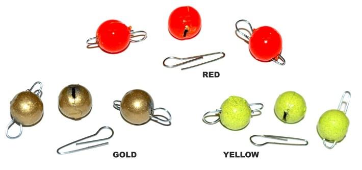Sporta svariņš «Cheburashka» SRC (izjaucams, 4 g, kr.: YELLOW, iep. 10 gab.)