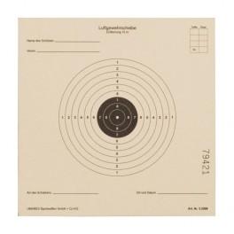 Papīra mērķis (14x14cm)