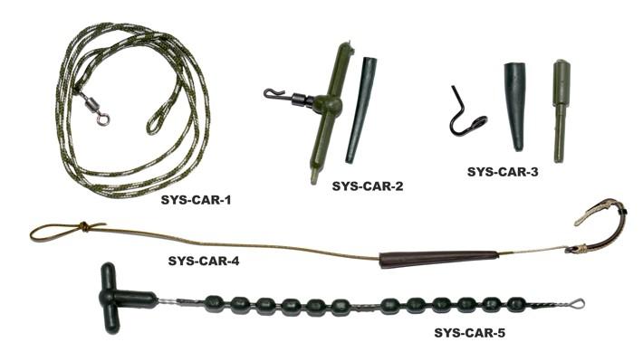 Sistēma Carp HEAVY - atdure (diam. 3,5 mm, iep. 2x12 gab.)