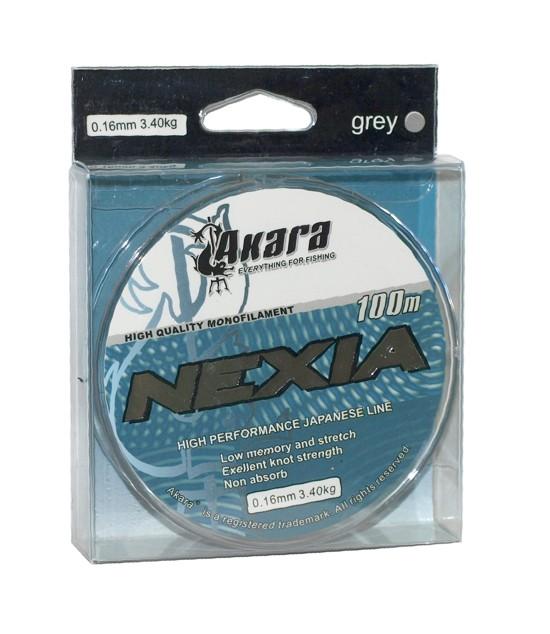 Aukla AKARA «Nexia 100» (mono, 100 m, 0,160 mm, 3,40 kg, iep. 1 gab.)