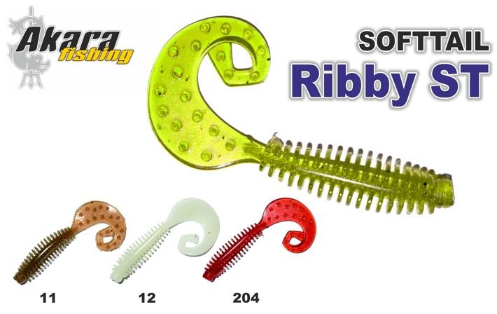 Силиконовая приманка AKARA SOFTTAIL «Ribby ST» (60 мм, цв. 12, упак. 5 шт.)