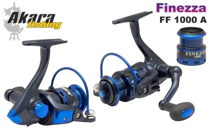 Безин. катушка AKARA «Finezza» FF-1000A (5+1 bb, 0,26/130 мм, 5,1:1) с зап.шп.