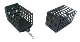 Кормушка KZD с грузом (5x3,5x2,5 см, 20 г, закрытое дно, прямоуг., в упак. 10 шт.)