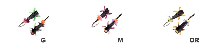 Мормышка «ЖУК» № 602 B (бисер) с ушком (2,0 мм, г, цвет: BL, упак. 10 шт.)
