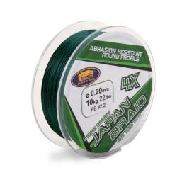 """Pītā aukla """"Japan Braid 4X Moss Green"""" (150m, 0.12mm)"""
