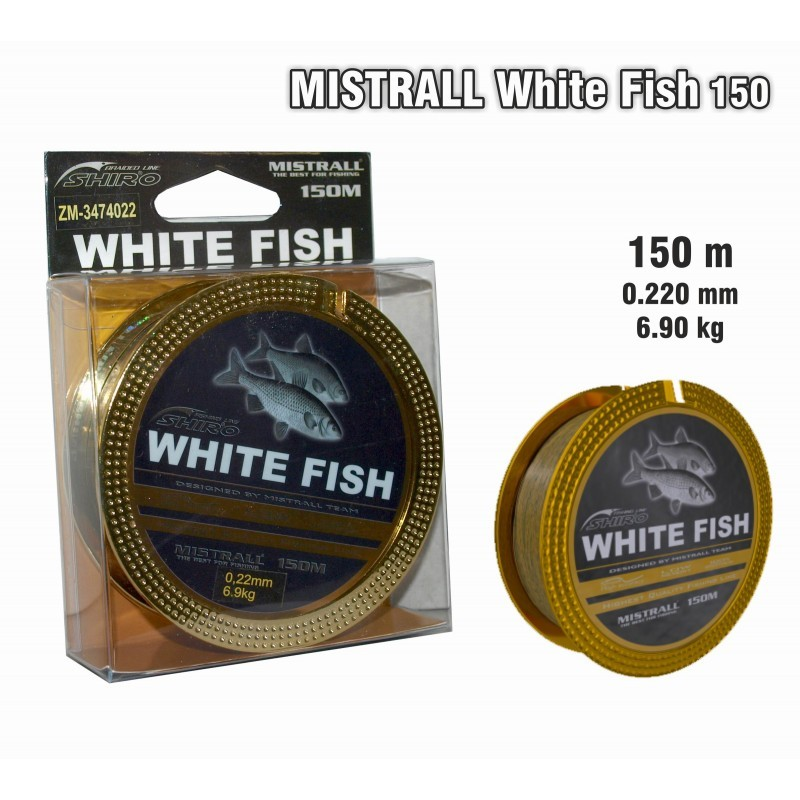 Aukla MISTRALL White FISH 150 - 0.22