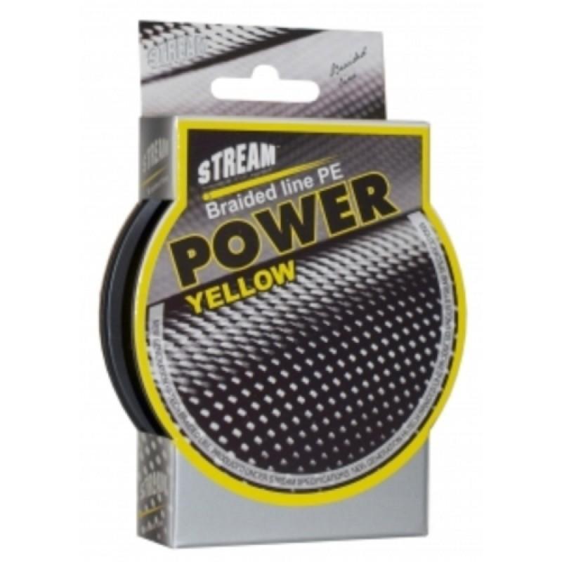 Pītā aukla STREAM Power yellow - 0.08