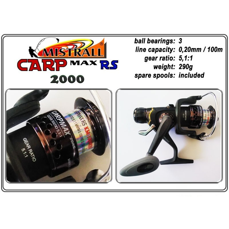 Spole MISTRALL Carp MAX - 2000 RS