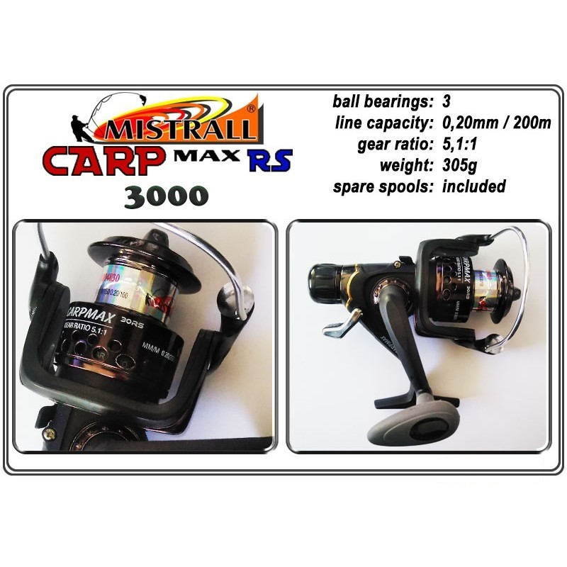 Spole MISTRALL Carp MAX - 3000 RS