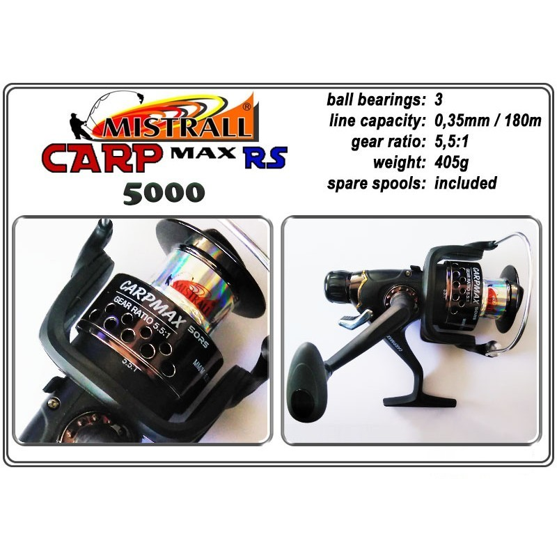 Spole MISTRALL Carp MAX - 5000 RS