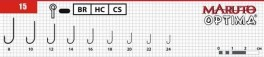 Āķi MARUTO 1562 OPTIMA (Nr. 10, BR, universālie, iep. 6 gab.)