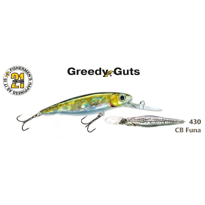 Воблер PONTOON 21 Greedy GUTS MDR 44SP - 430