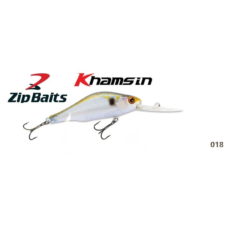 Воблер ZIP BAITS Khamsin DR 70SP - 018