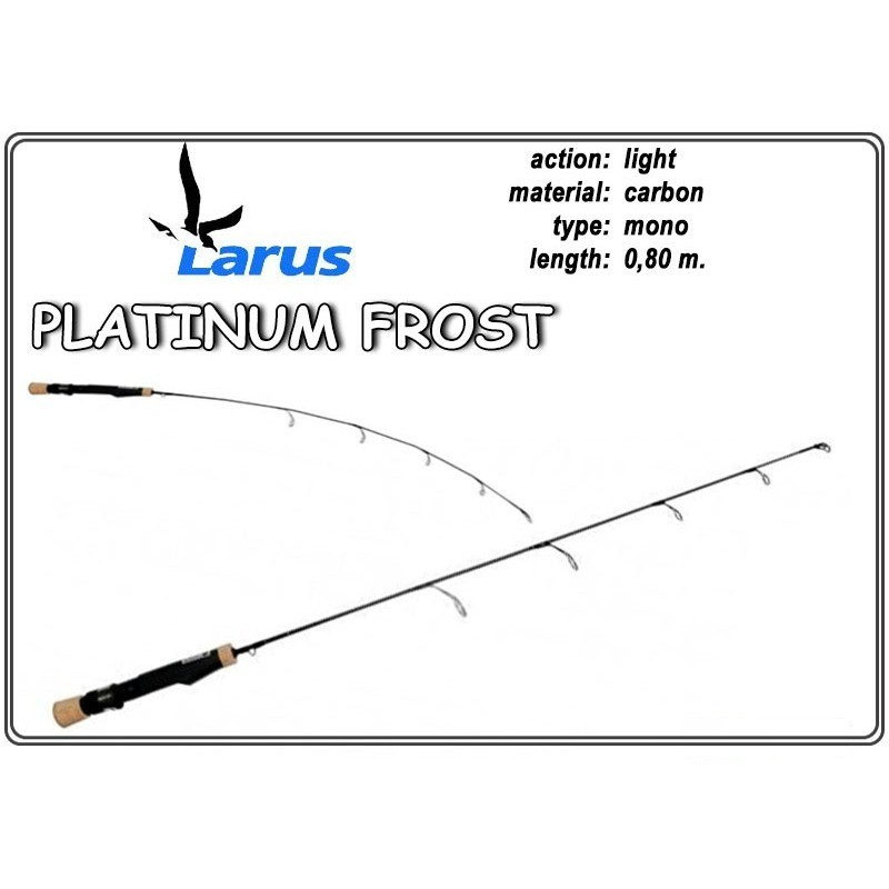 Удочка LARUS Platinum FROST 80 - light