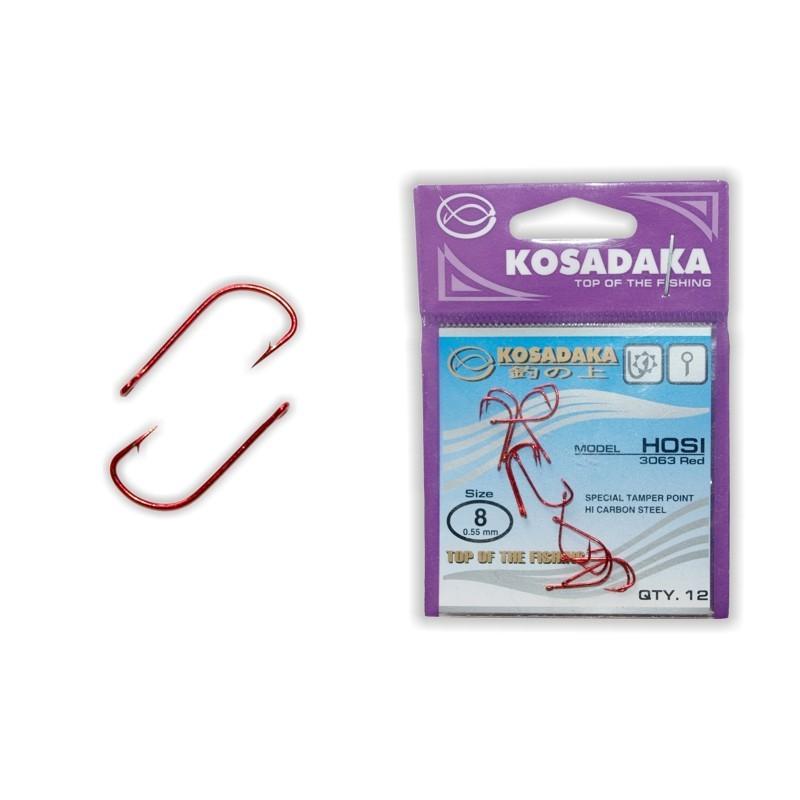 Āķi KOSADAKA Hosi Red - 8