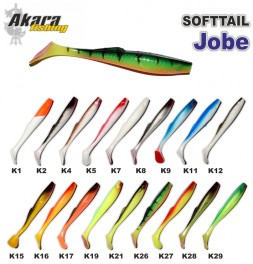 Silikona māneklis AKARA SOFTTAIL «Jobe» (130 mm, krāsa K2, iep. 3 gab.)