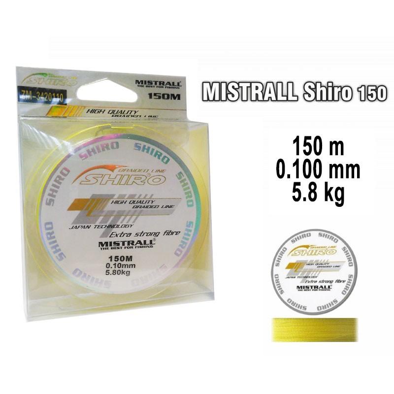 Pītā aukla MISTRALL Shiro yel - 0.10