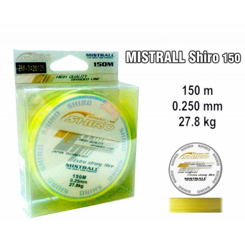 Pītā aukla MISTRALL Shiro yel - 0.25