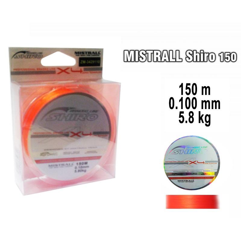 Pītā aukla MISTRALL Shiro or - 0.10