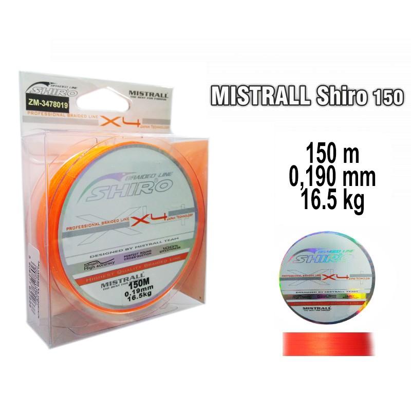 Плетеная леска MISTRALL Shiro or - 0.19