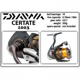 Катушка DAIWA Certate - 1003