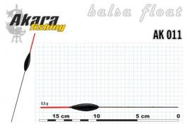 @ Pludiņš AKARA 011 (balsa, 0,5 g, 17,0 cm, iep. 10 gab.)